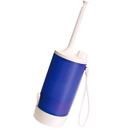 ミヨシ トラベルトイレシャワー(手動式) MBK-TW01/BL ブルー