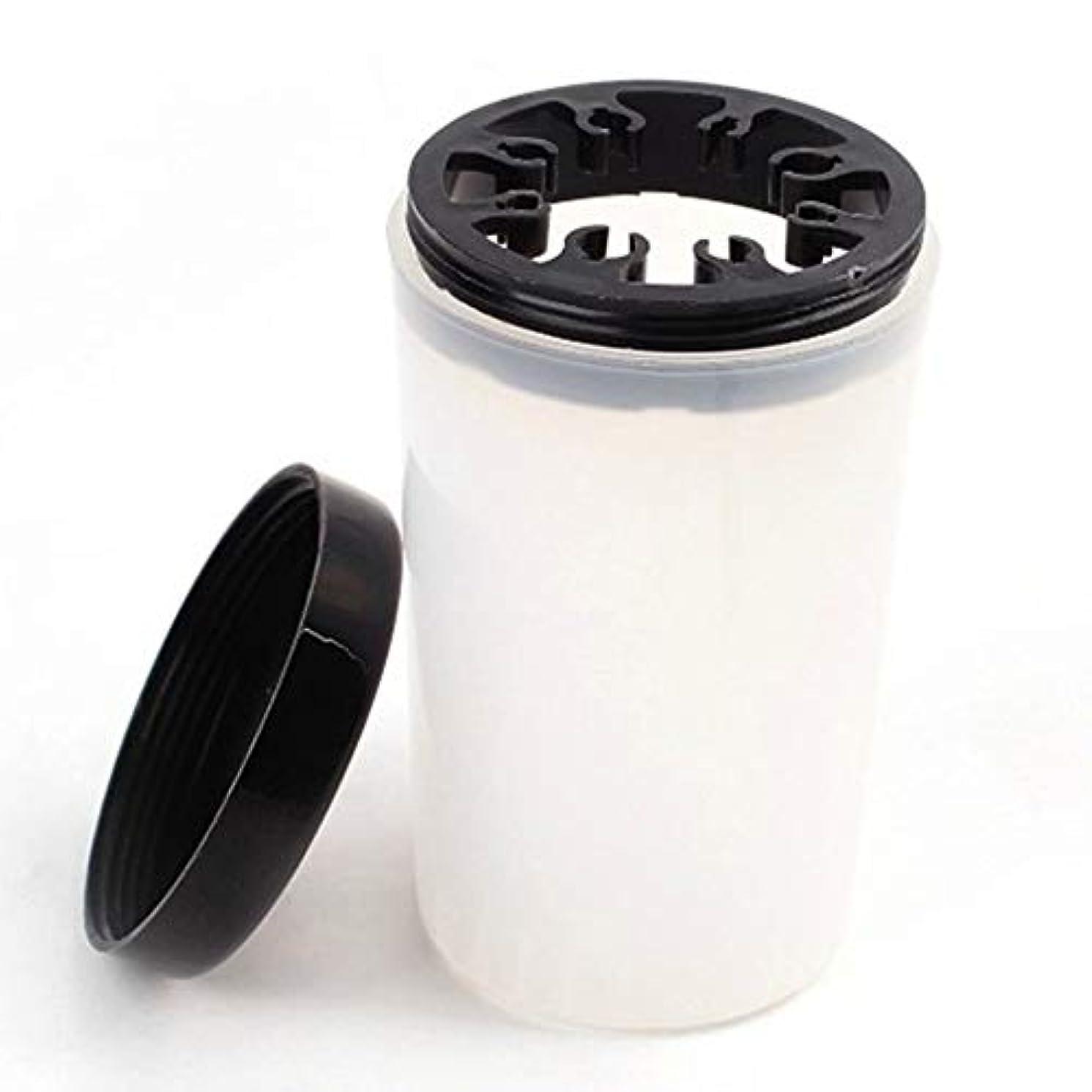 鉄ヘクタールドットAAcreatspaceネイルアートチップブラシホルダーネイルアートチップブラシホルダーリムーバーカップ浸漬ネイルアートブラシクリーナーボトルスタンドベース