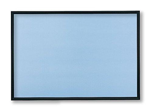 アルミ製パズルフレーム フラッシュパネル ブラック (50x75cm)