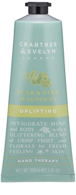 文化渦合わせてクラブツリー&イヴリン Pear & Pink Magnolia Uplifting Hand Therapy 100ml/3.45oz並行輸入品
