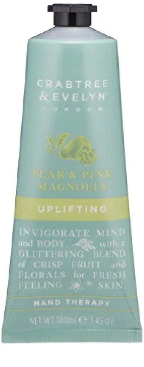 ハミングバード雷雨言い訳クラブツリー&イヴリン Pear & Pink Magnolia Uplifting Hand Therapy 100ml/3.45oz並行輸入品