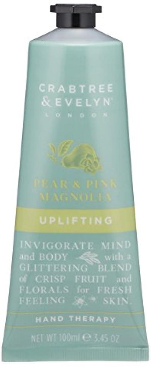 デッドロック崇拝するフラスコクラブツリー&イヴリン Pear & Pink Magnolia Uplifting Hand Therapy 100ml/3.45oz並行輸入品