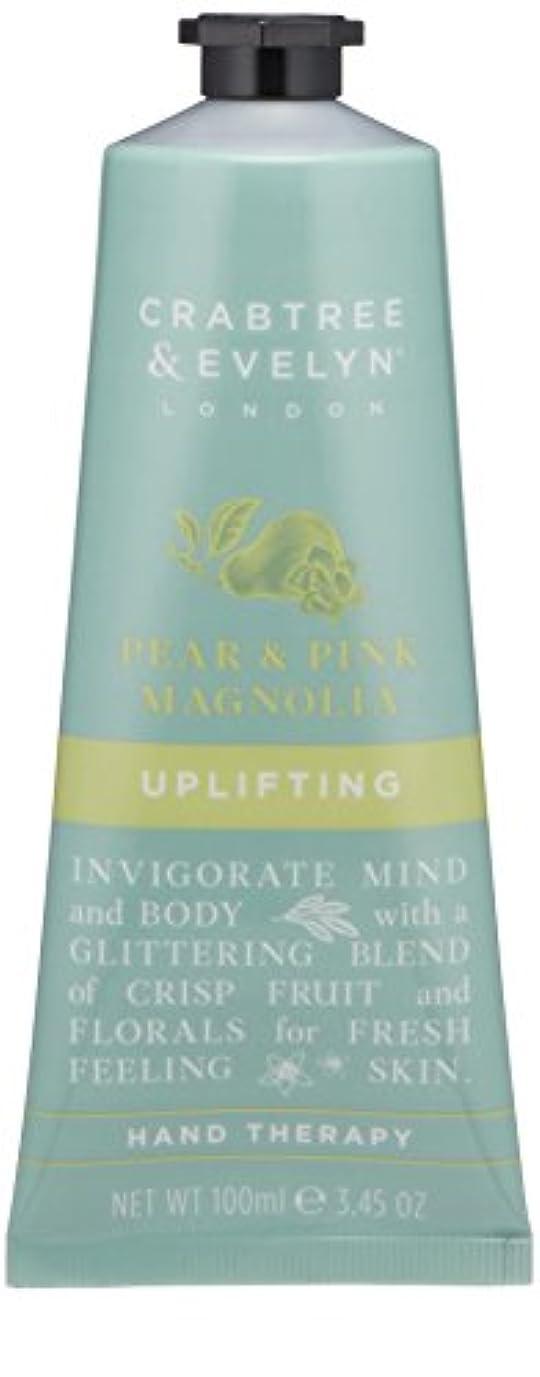 盆地墓掃くクラブツリー&イヴリン Pear & Pink Magnolia Uplifting Hand Therapy 100ml/3.45oz並行輸入品