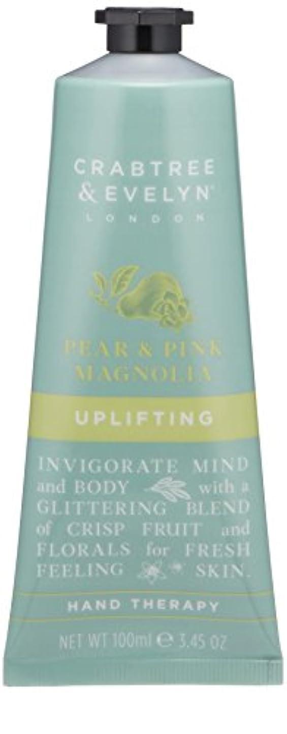 敗北ファセット反応するクラブツリー&イヴリン Pear & Pink Magnolia Uplifting Hand Therapy 100ml/3.45oz並行輸入品