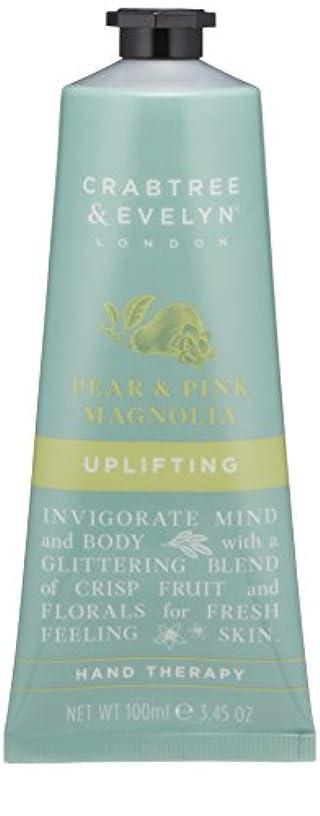 開いた蜜完璧なクラブツリー&イヴリン Pear & Pink Magnolia Uplifting Hand Therapy 100ml/3.45oz並行輸入品