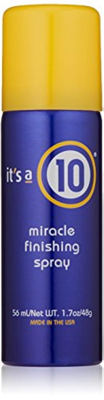範囲覆す寛解It's A 10 Miracle Finish Spray 50 ml (並行輸入品)