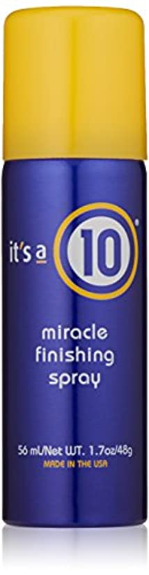 例外農業の応用It's A 10 Miracle Finish Spray 50 ml (並行輸入品)