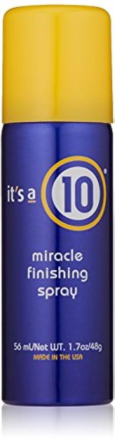 財政樹木爆発It's A 10 Miracle Finish Spray 50 ml (並行輸入品)
