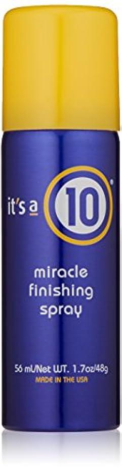 感謝祭不公平論争的It's A 10 Miracle Finish Spray 50 ml (並行輸入品)