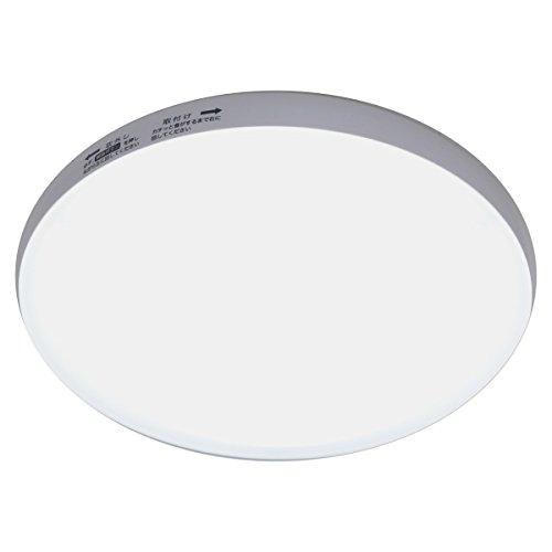 山善(YAMAZEN) LEDミニシーリングライト 白熱電球100W相当 1550ルーメン 昼白色相当 MLC-18N
