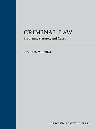Download Criminal Law: Problems, Statutes, and Cases 1531004016