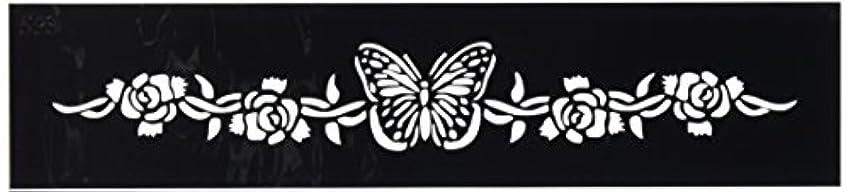 ピアニスト生物学業界ボディステンシル #0593