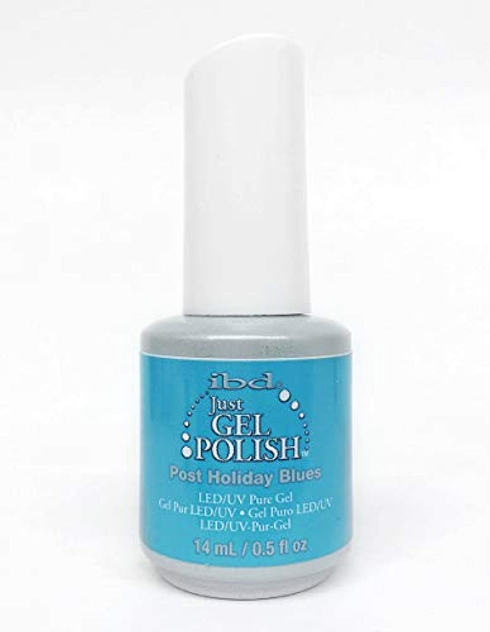 ibd Just Gel Nail Polish - Post Holiday Blues - 14ml / 0.5oz