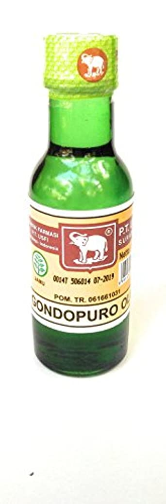 真実正確さ美容師Elephant Brand キャップガジャminyak gondopuroオイル、50mlの