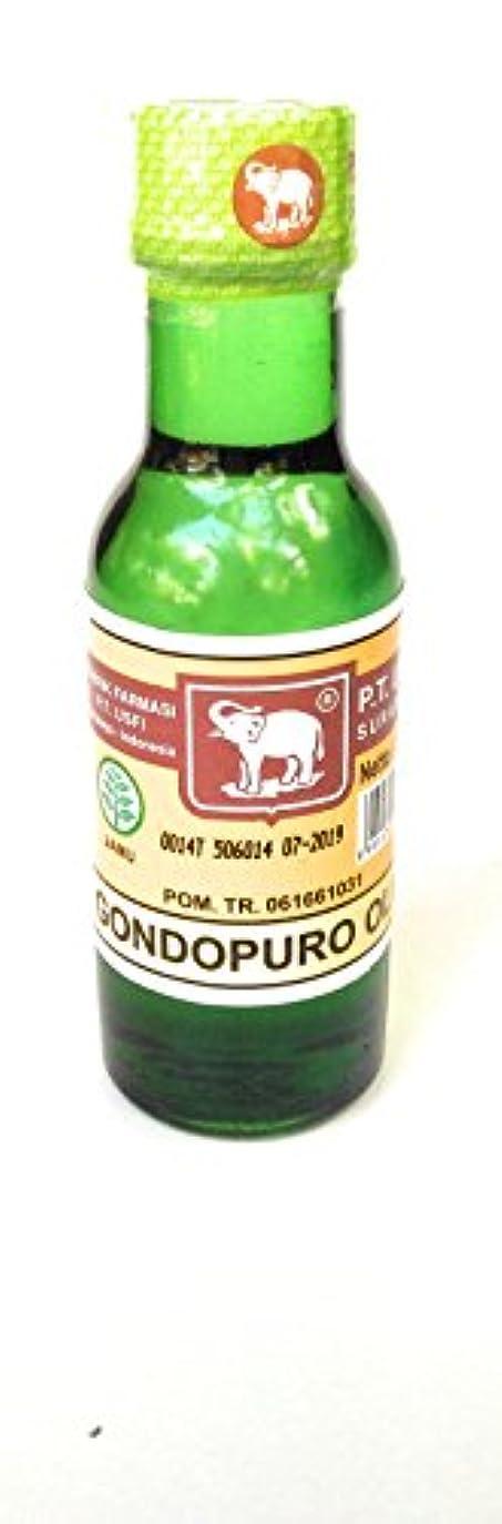 大破薬理学かんがいElephant Brand キャップガジャminyak gondopuroオイル、50mlの