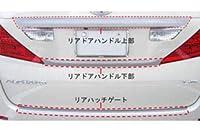 HASEPRO(ハセ・プロ) マジカルカーボン リアハッチゲート シルバー GGH/ANH 20系 ヴェルファイア(2008/5~)