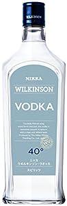 「ウィルキンソンウォッカ40度720ml」は、白樺炭による濾過工程に時間をかけたスピリッツです。ピュアでクリアな味わいを実現した本格派です。