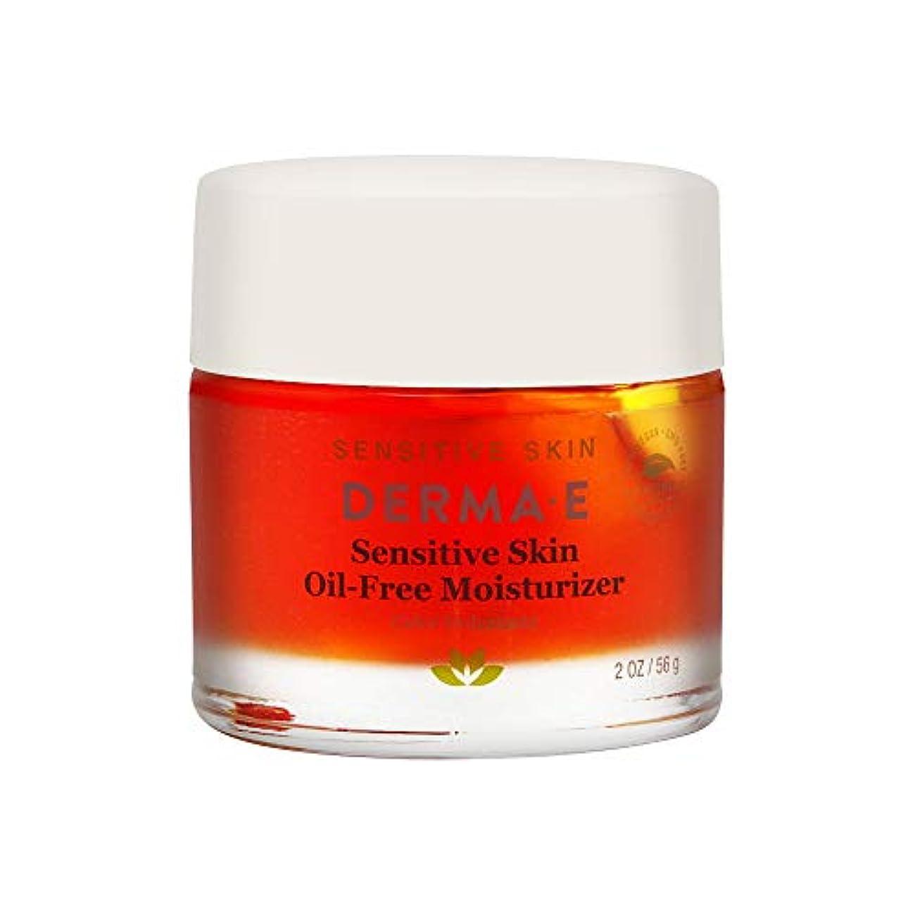 入場なめらか属するDerma E Sensitive Skin Oil-Free Moisturizer 56g/2oz並行輸入品