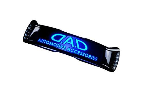 D.A.D (GARSON/ギャルソン) LEDミラーフェイス ブラック : アクアマリン SB114-06