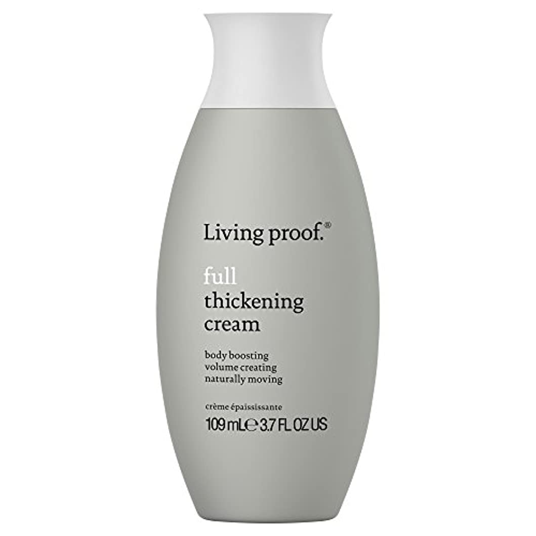 絵ブースセラー生きている証拠フル肥厚クリーム109ミリリットル (Living Proof) (x2) - Living Proof Full Thickening Cream 109ml (Pack of 2) [並行輸入品]