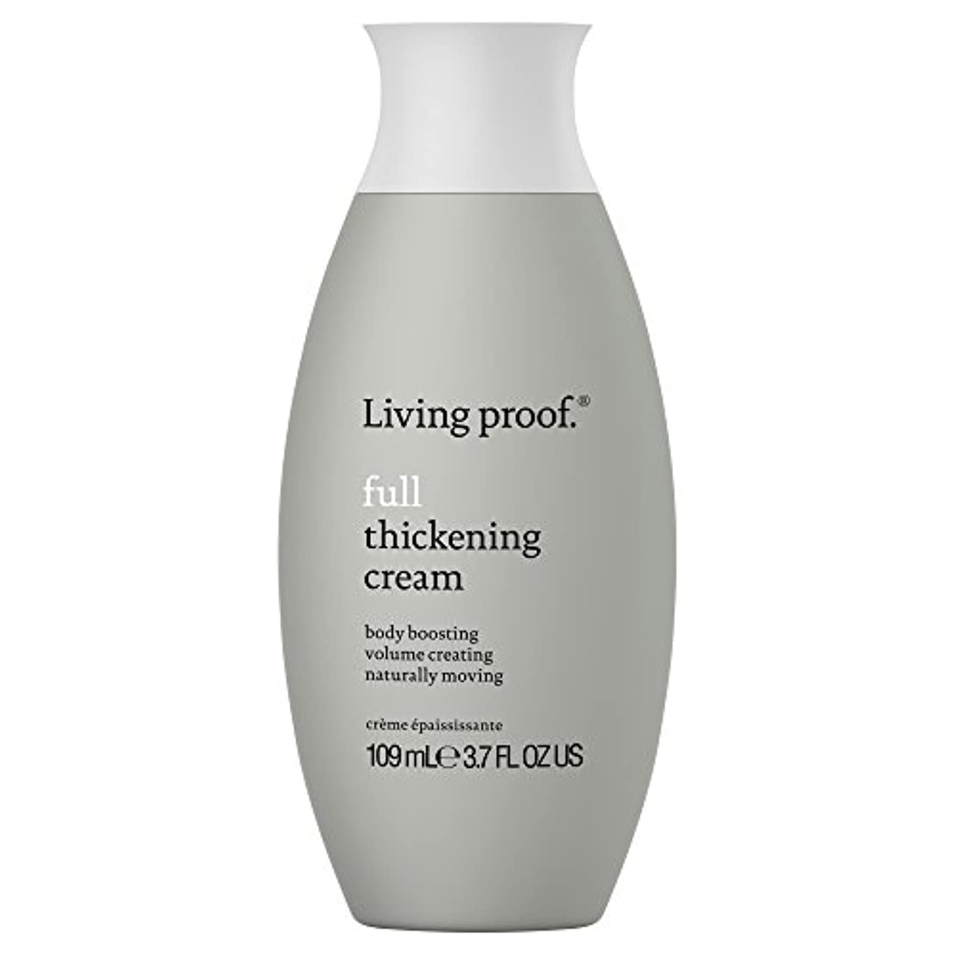 兵士牧師戸惑う生きている証拠フル肥厚クリーム109ミリリットル (Living Proof) (x6) - Living Proof Full Thickening Cream 109ml (Pack of 6) [並行輸入品]