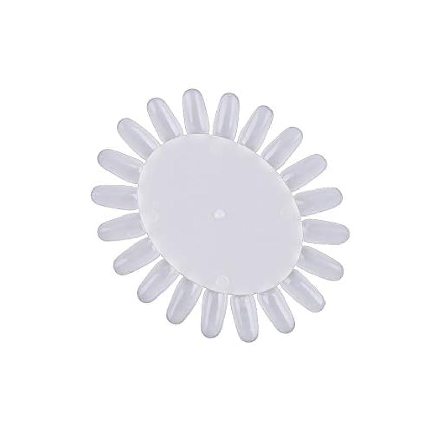 動揺させる撤退伝染性のネイルネイルは4枚のプラスチック製ジェルネイルアートデザインのカラーカードのトレーニングマニキュアキットの看板を促し