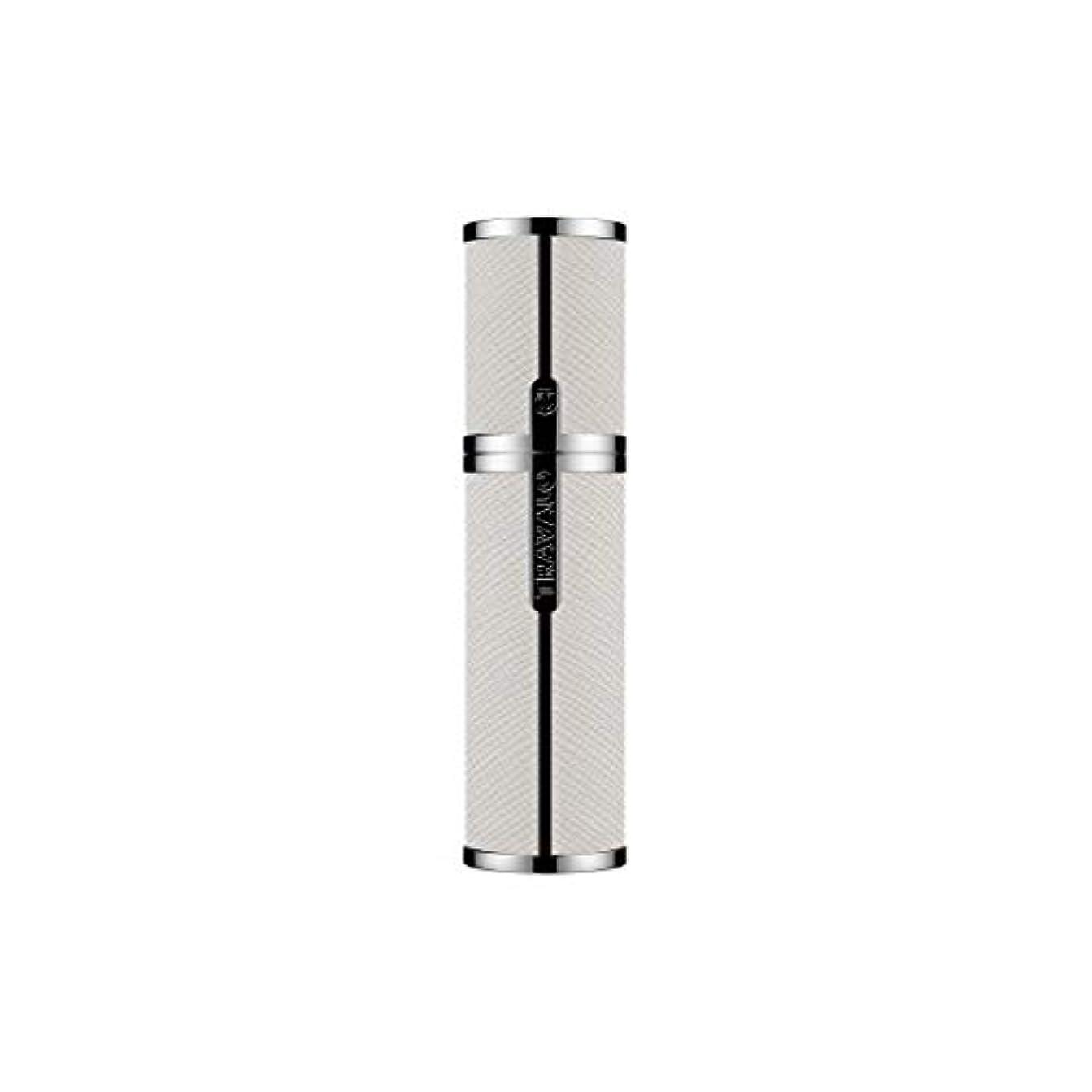 鉛筆消毒する率直なTRAVALO (トラヴァ―ロ) ミラノ アトマイザー ホワイト 香水 旅行 携帯 詰め替え ボトル 簡単 香水スプレー