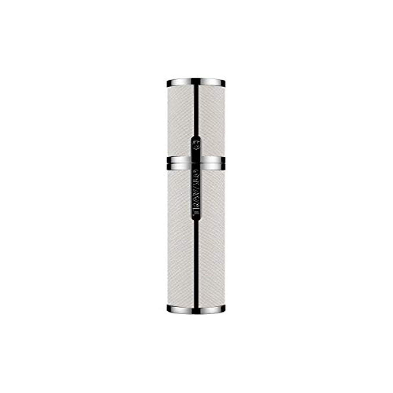 TRAVALO (トラヴァ―ロ) ミラノ アトマイザー ホワイト 香水 旅行 携帯 詰め替え ボトル 簡単 香水スプレー