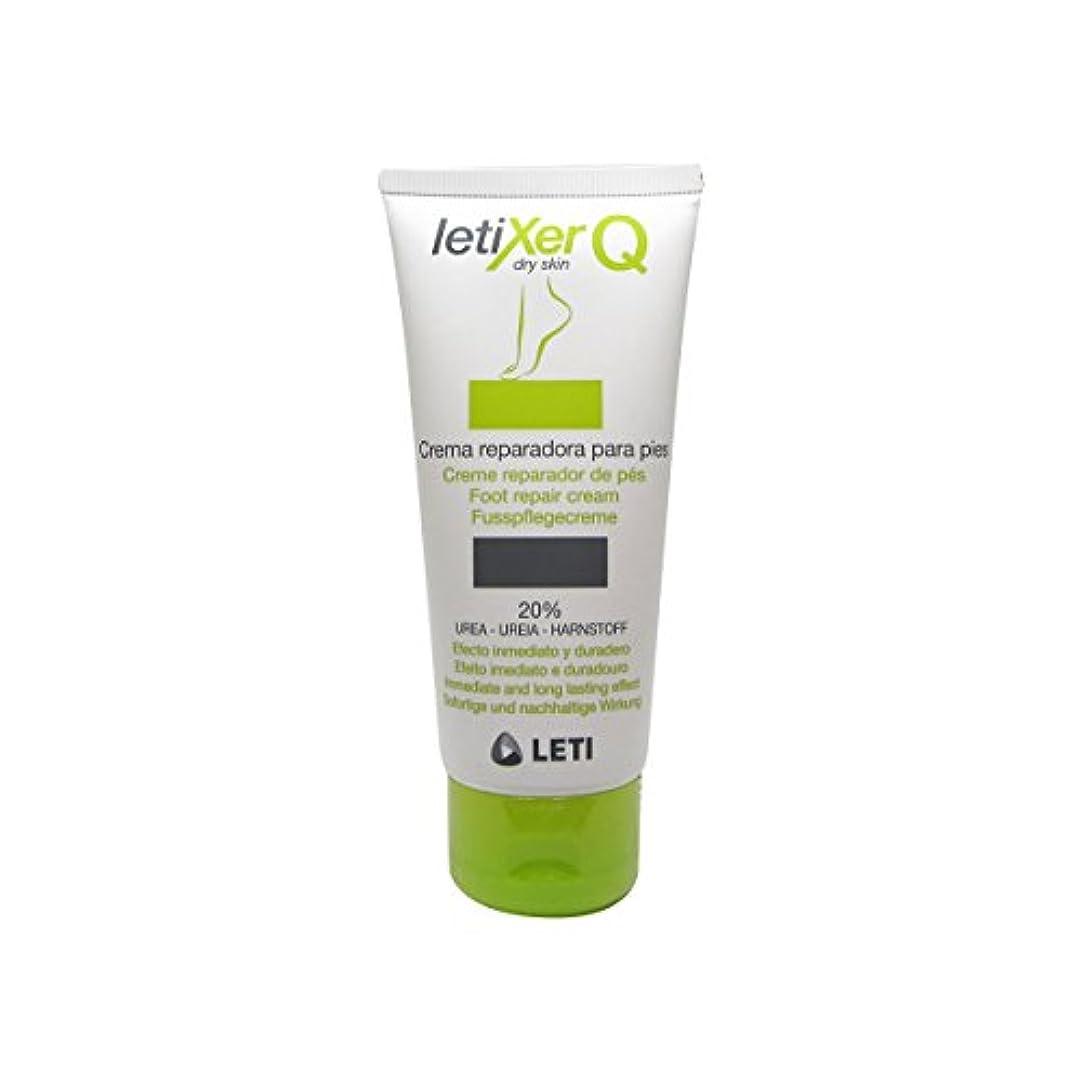 五月温度促すLeti Letixer Q Foot Repair Cream 100ml [並行輸入品]