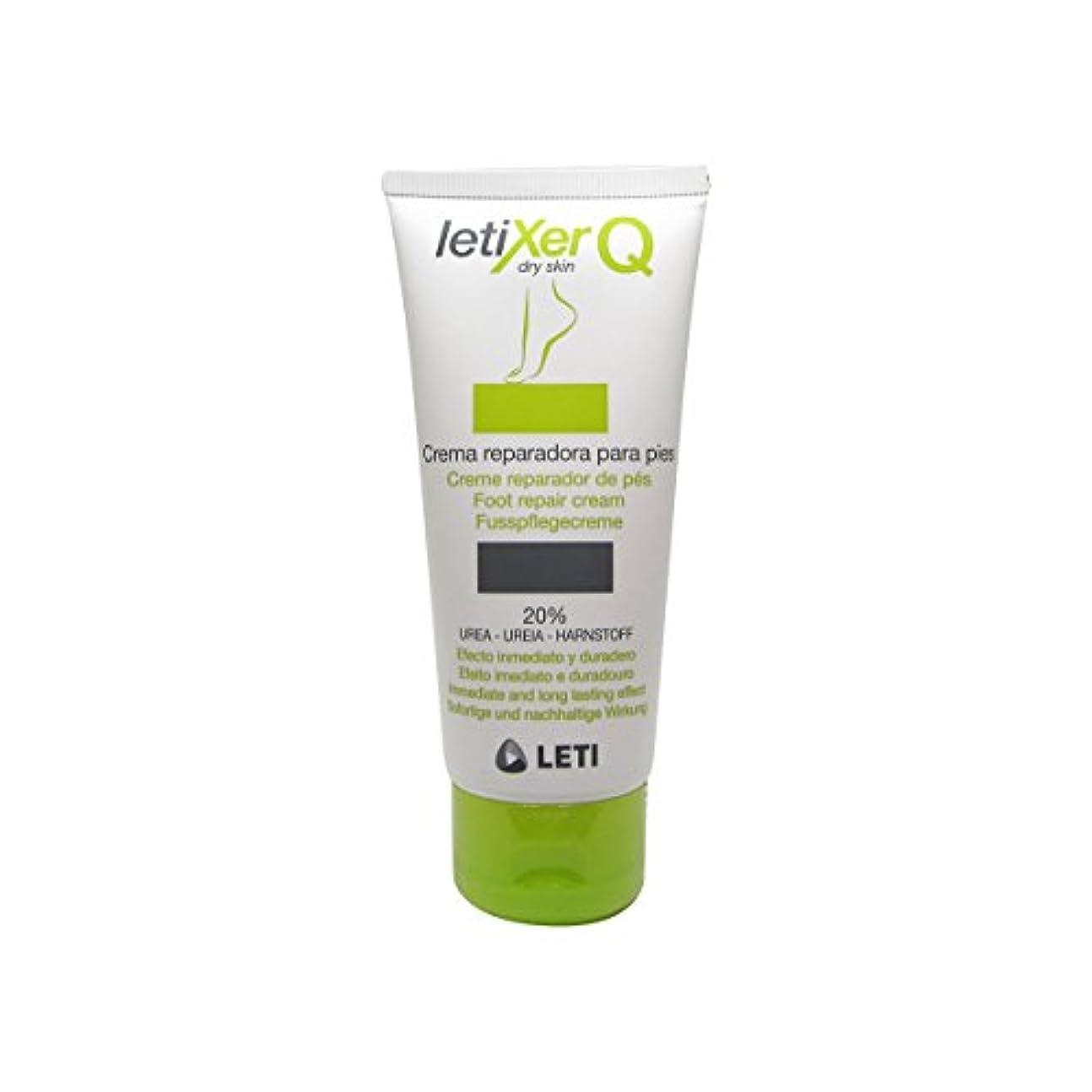 蘇生する便利分子Leti Letixer Q Foot Repair Cream 100ml [並行輸入品]
