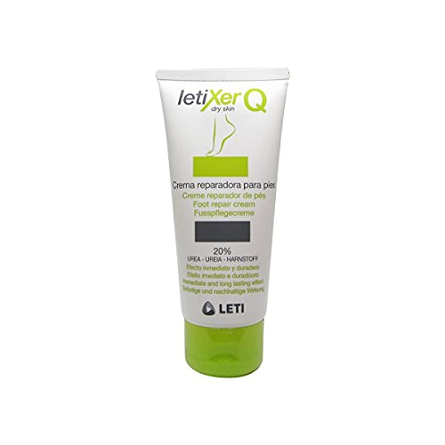 効能ある再撮りうめきLeti Letixer Q Foot Repair Cream 100ml [並行輸入品]