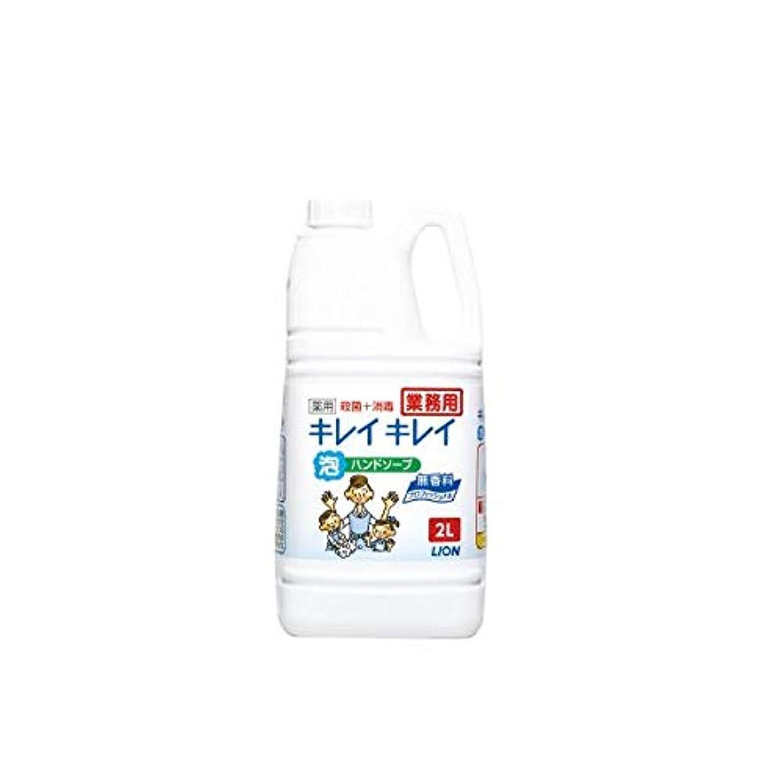 (まとめ)ライオン キレイキレイ泡ハンドソープPRO 無香料 2L【×2セット】 ダイエット 健康 衛生用品 ハンドソープ 14067381 [並行輸入品]