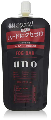 uno(ウーノ) ウーノ フォグバー (がっちりアクティブ) 詰め替え用 ミストワックス 80ml