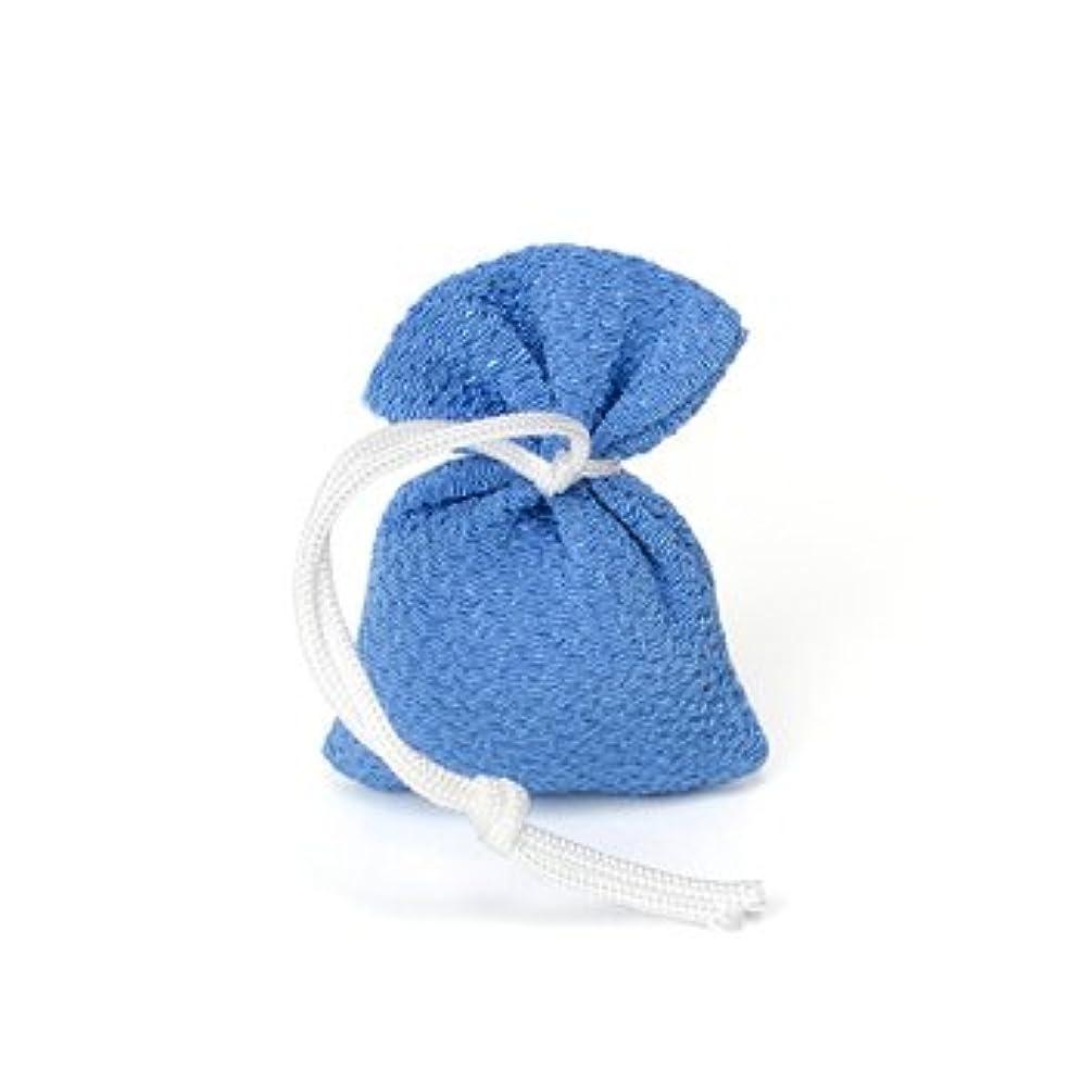 ハンマーつまらない植物学者松栄堂 匂い袋 誰が袖 携帯用 1個入 ケースなし (色をお選びください) (青)