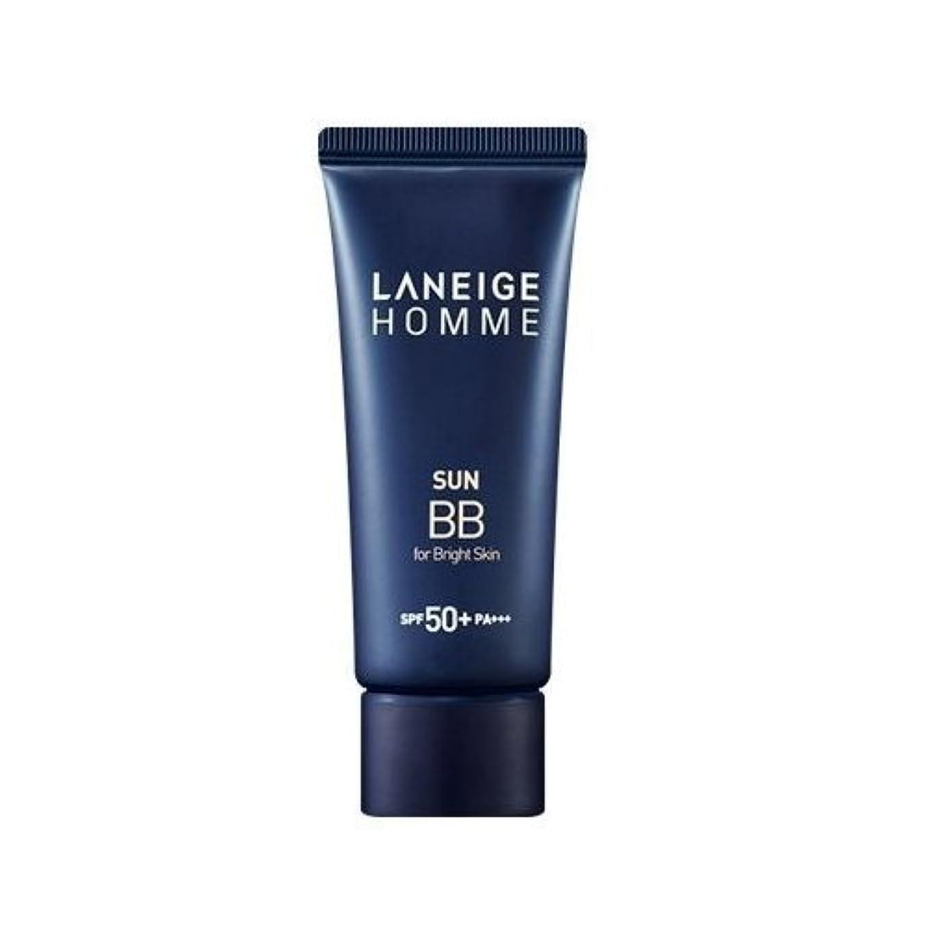 ご覧ください電化する地図Laneige Homme Sun BB Cream (SPF40/PA++) - #Bright skin