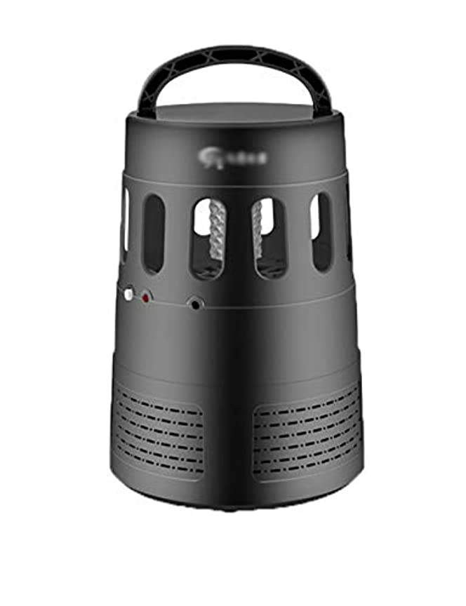 新しい黒クラシックインテリジェント蚊キラー屋内led掃除機蚊ランプ超強力サイクロン蚊ランプ落下耐久性のある蚊ランプ (Color : Black)