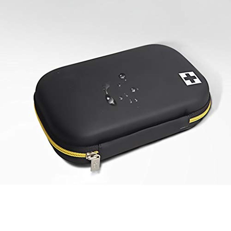 殺す彼自身しなければならないYANGBM 携帯用屋外の救急箱の救命パッケージ旅行家の緊急パッケージ車の医療キット (Color : Black)