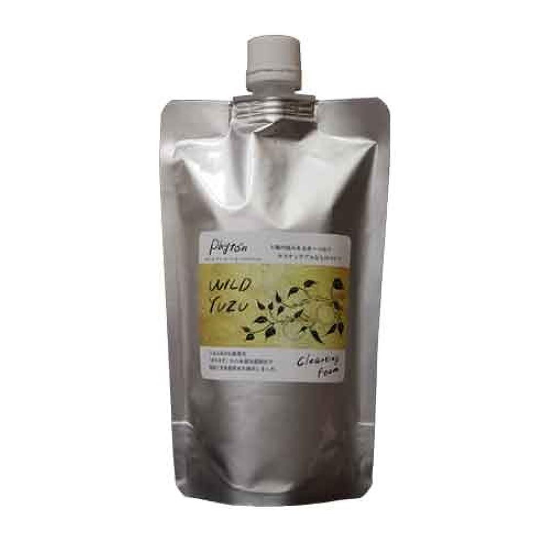 お茶喜んで最も遠いWILD YUZU(ワイルドゆず)ゆずクレンジングフォーム 詰替用 280ml