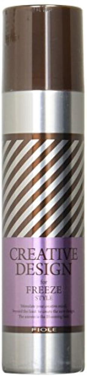 アナニバー崇拝する爆発物フィヨーレ クリエイティブデザイン フリーズ ヘアスプレー 200g
