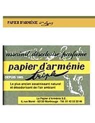 パピエダルメニイ 空気を浄化する紙のお香パピエダルメニイ トリプル ヨーロッパ雑貨