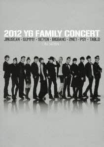 2012 YG Family Concert in Japann (2DVD)