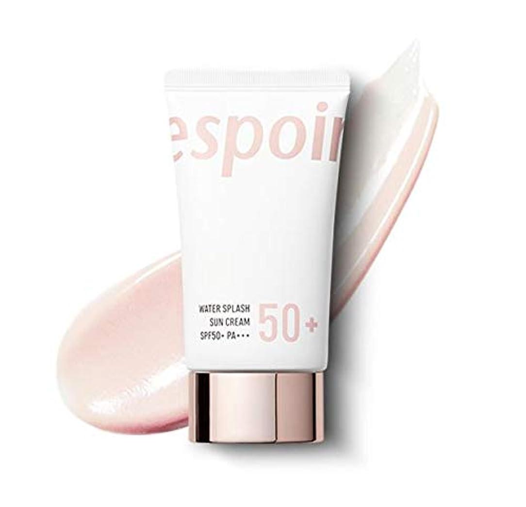 危険にさらされている応じるシンポジウムeSpoir Water Splash Sun Cream SPF50+PA+++ (R) / エスポワール ウォータースプラッシュ サンクリーム 60ml [並行輸入品]