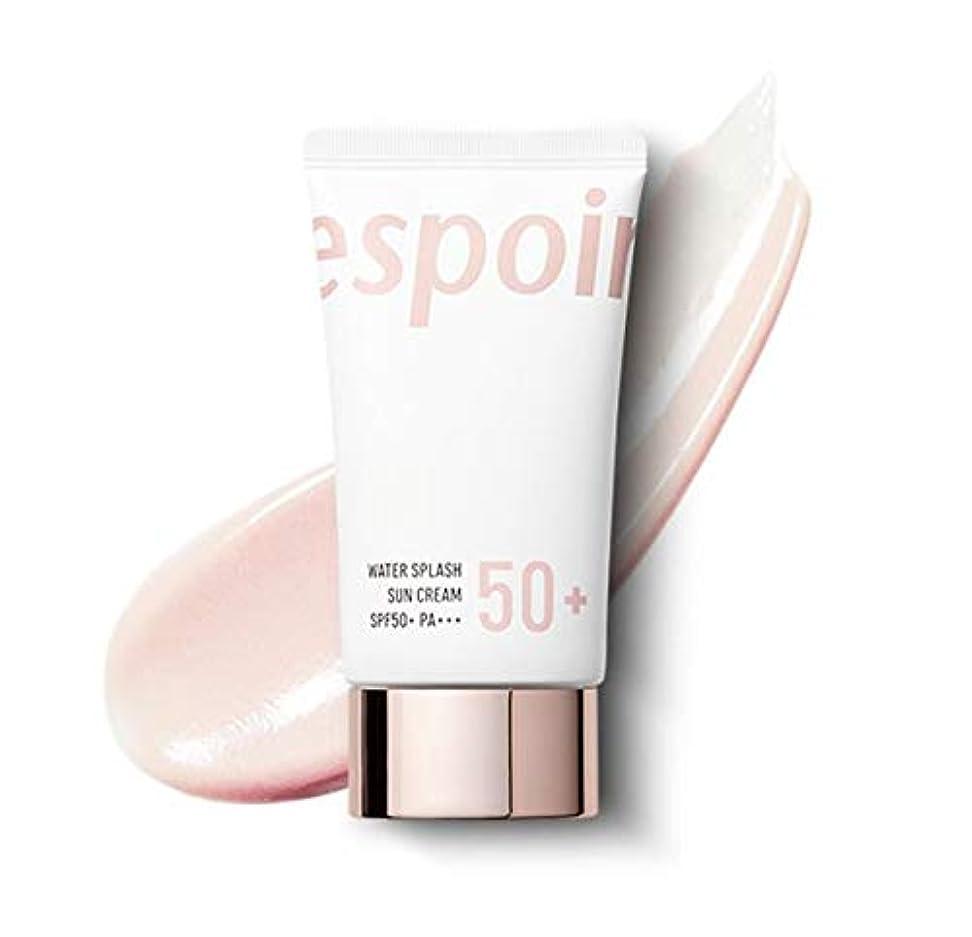 許される鎮痛剤接続詞eSpoir Water Splash Sun Cream SPF50+PA+++ (R) / エスポワール ウォータースプラッシュ サンクリーム 60ml [並行輸入品]