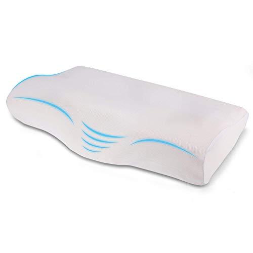 RAINLAX 枕 低反発 安眠 肩こり対策 頚椎サポート 低反発まくら カバー付き