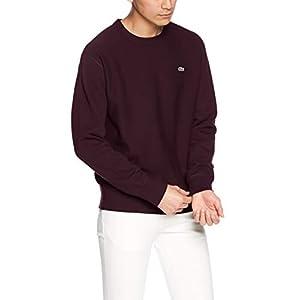 [ラコステ] 無撚糸 プレミアムスウェットシャツ SH109EL メンズ バーガンディー EU 003 (日本サイズM相当)