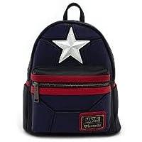 LOUNGEFLY マーベル キャプテンアメリカ ミニバックパック カバン ショルダーバッグ