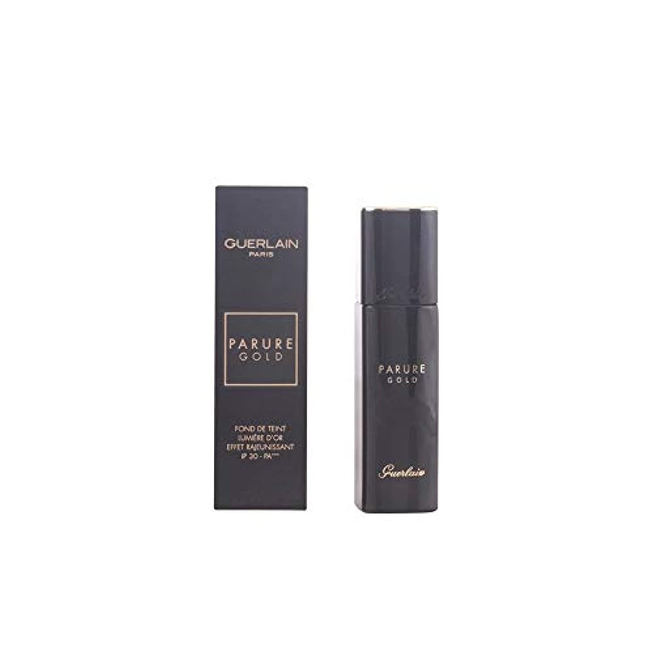 バケツに対応する繁栄ゲラン Parure Gold Rejuvenating Gold Radiance Foundation SPF 30 - # 24 Medium Golden 30ml/1oz並行輸入品