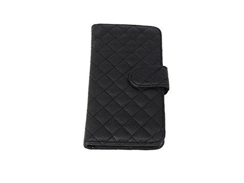 アンジェリツコ iPhone7ケース 手帳型 <キルティングデザイン カードケース スタンド機能付き...