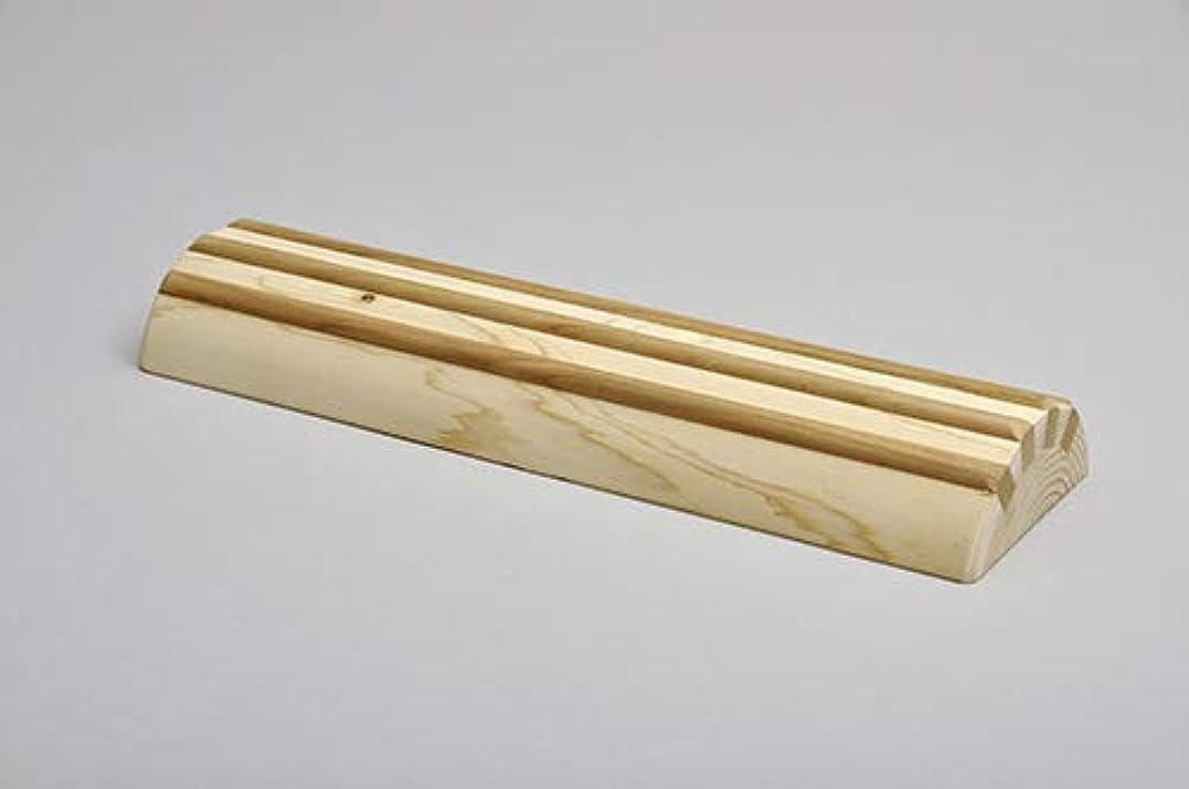 予備求人うめき酒井産業 ヒノキ間伐材足踏み 約30×9×高3.7cm 耐荷重/約120kg マッサージ ツボ押し 国産