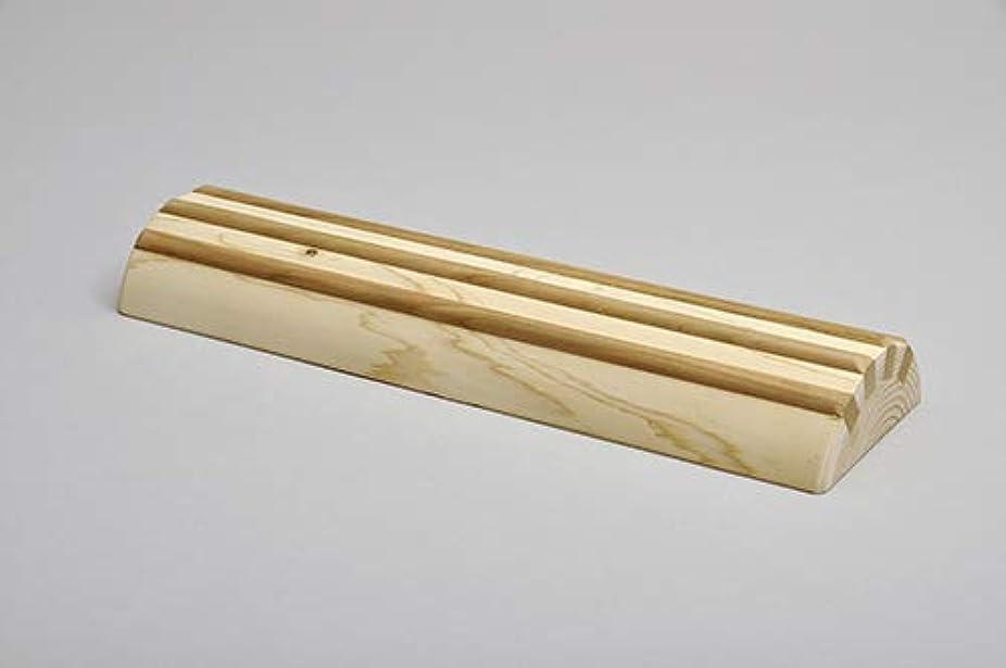 餌昼食認可酒井産業 ヒノキ間伐材足踏み 約30×9×高3.7cm 耐荷重/約120kg マッサージ ツボ押し 国産